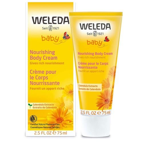 Weleda Pflegecreme Κρέμα Καλέντουλας Για Μωρά Προστατεύει Το Ευαίσθητο Δέρμα 75ml