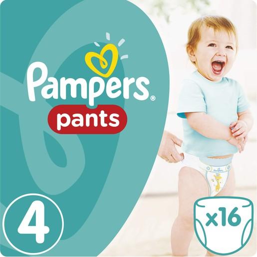 Pampers Pants No4 (9-14kg) 16 πάνες