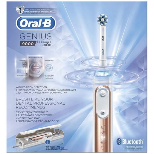 Genius 9000 Rose Gold Ηλεκτρική Οδοντόβουρτσα - Oral-B