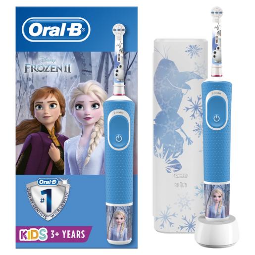 Oral-B Vitality Kids Frozen 3+ Years, Παιδική Ηλεκτρική Οδοντόβουρτσα & Δώρο Exclusive Travel Case