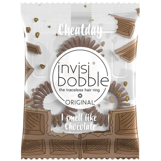 Invisibobble Cheat Day I Smell Like Chocolate Λαστιχάκι Μαλλιών 3 Τεμάχια
