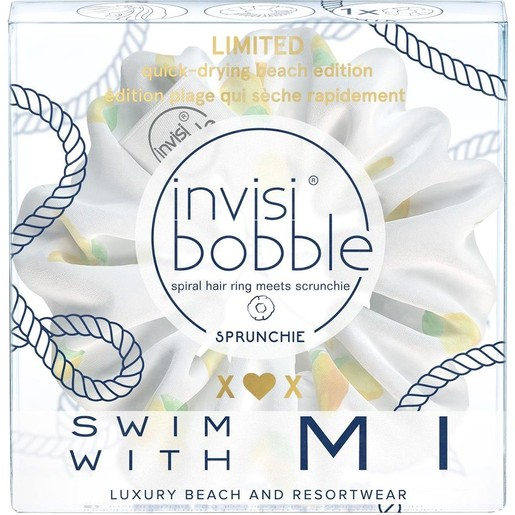 Invisibobble Swim With Mi Λαστιχάκι Μαλλιών με Αδιάβροχο Ύφασμα και Γερό Κράτημα 1τμχ