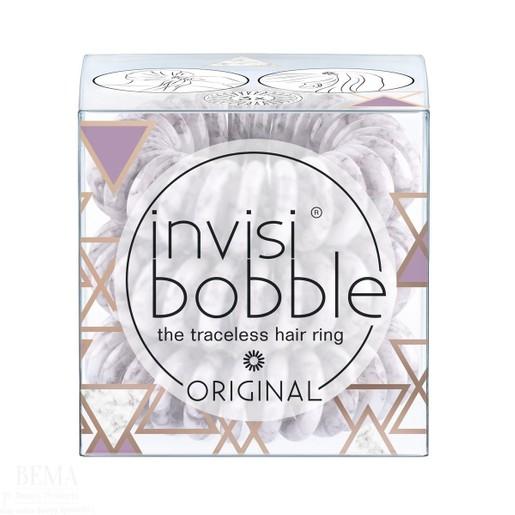 Invisibobble Original Marblelous Purple Grey Λαστιχάκι Μαλλιών 3 Τεμάχια