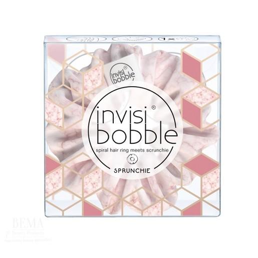 Invisibobble Sprunchie Marblelous Natural Light Pink 1 Τεμάχιο