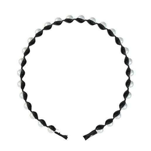 Invisibobble Headband Shiny Pearls Στέκα Μαλλιών 1 Τεμάχιο