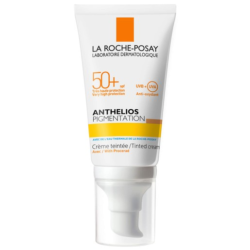 La Roche-Posay Anthelios Pigmentation Tinted Cream Spf50+ Αντηλιακό Προσώπου με Χρώμα για Πρόληψη & Προστασία των Πανάδων 50ml