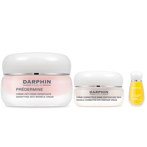 Darphin Holiday Set Predermine Densifying Anti Wrinkle Cream 50ml, Wrinkle Corrective Eye Contour Cr. 15ml &Jasmine Aromatic 4ml