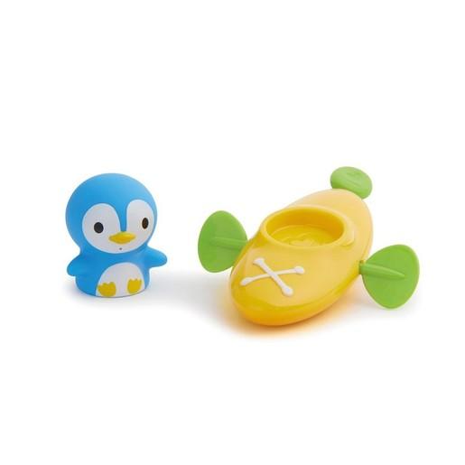Munchkin Paddlin Penguin Πιγκουίνος Παιχνιδάκι Μπάνιου για Παιδιά 18+ Μηνών 1 Τεμάχια