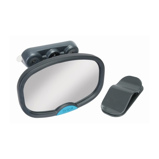 Munchkin Dual Sight Car Mirror Βοηθητικός Καθρέπτης Αυτοκινήτου Παρακολούθησης Μωρού 1 Τεμάχιο
