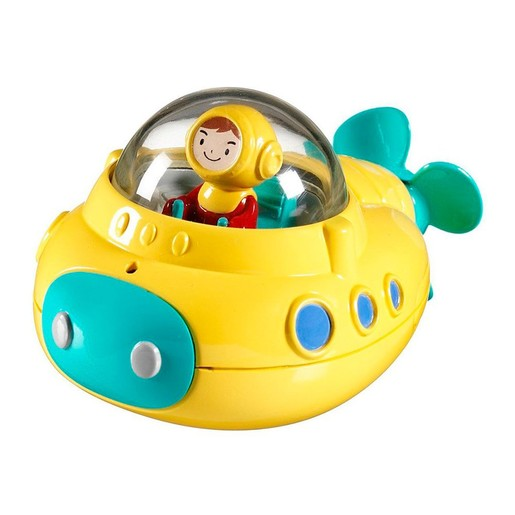 Munchkin Undersea Explorer Παιχνίδι Μπάνιου Υποβρύχιο Κουδουνίστρα  1 Τεμάχιο