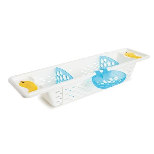 Munchkin Secure Grip Bath Caddy Διάτρητη Θήκη Μπανιέρας για τα Αξεσουάρ και Παιχνίδια του Παιδιού 1 Τεμάχιο