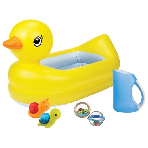 Munchkin Bathtime Bundle Splish & Splash Βρεφικό Σετ Μπανιέρας με Παιχνίδια από 9m+