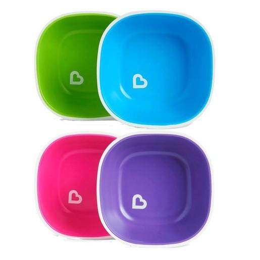 Munchkin Bowls With Grips Μπολ  με Αντιολισθητική Βάση 2τμχ