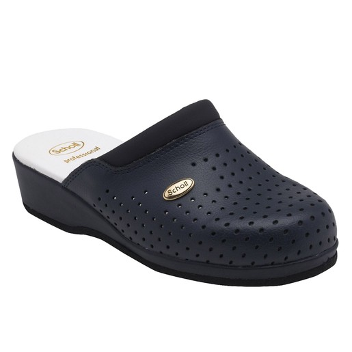 Dr Scholl Shoes Back Guard Σαμπό Μπλε Επαγγελματικά Παπούτσια που Χαρίζουν Σωστή Στάση & Φυσικό Χωρίς Πόνο Βάδισμα 1 Ζευγάρι