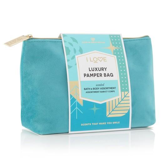 I love...Luxury Pamper Bag Σετ Mini Προϊόντων Περιποίησης Σώματος