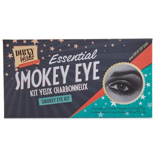 Dirty Works Essential Smokey Eye Kit 5x5gr & Eye Pencil 1.5gr