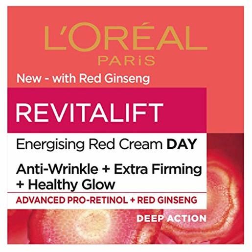 L\'oreal Paris Revitalift Energising Red Cream Day 50ml