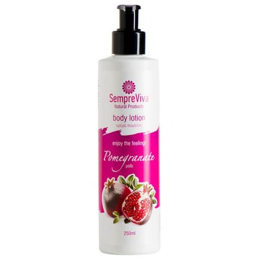 SempreViva Body Lotion Pomegranate Γαλάκτωμα Σώματος Ρόδι 250ml