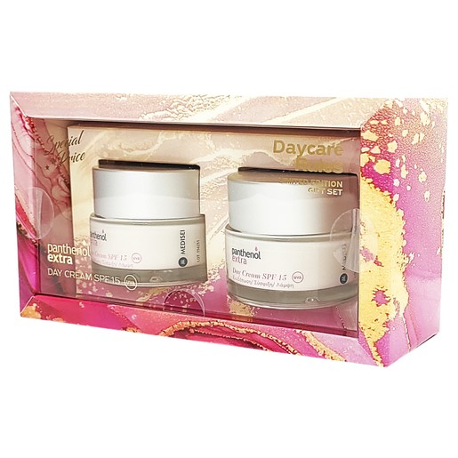 Medisei Panthenol Extra Daycare Rules Limited Edition Gift Set Day Cream Spf 2x50ml