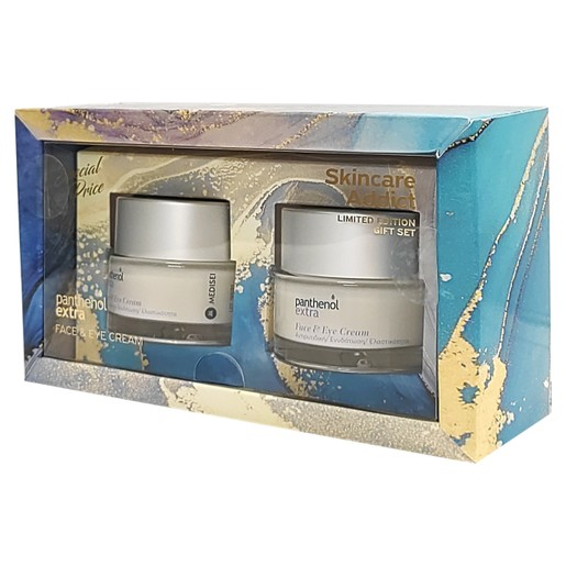 Medisei Panthenol Extra Skincare Addict Limited Edition Gift Set Face & Eye Cream 2x50ml