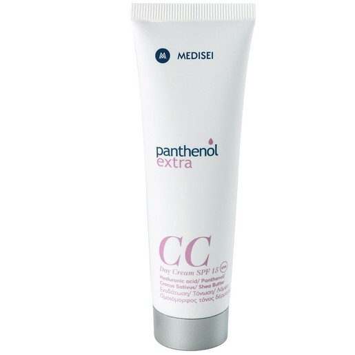 Panthenol Extra CC Day Cream Spf15 Κρέμα για Ενυδάτωση Τόνωση & Λάμψη 50ml