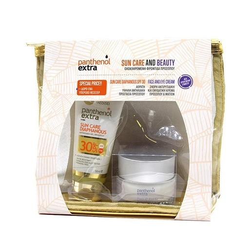 Medisei Promo Sun Care & Beauty Panthenol Extra Sun Diaphanous Spf30, 50ml & Face & Eye Cream 50ml & Δώρο Νεσεσέρ