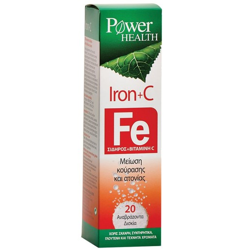 Power Health Iron & C 20Effer.tabs
