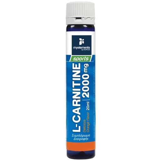 MyElements Sports L-carnitine 2000mg Liquid με Γεύση Πορτοκάλι 20ml