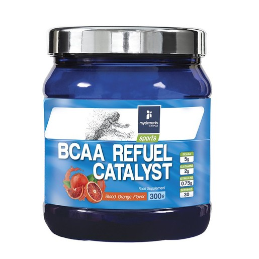 My Elements Sports BCAA Refuel Catalyst Πλήρης Φόρμουλα Αμινοξέων Ιδανική για Αθλητές 300gr