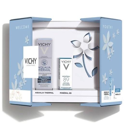 Vichy Πακέτο Προσφοράς Welcome Youth Aqualia Thermal Ενυδατική Cream Legere 30ml & Δώρο Mineral 89 Booster Ενυδάτωσης 5ml