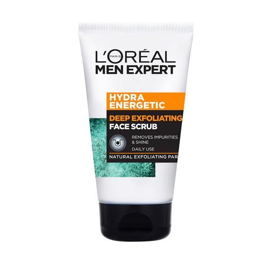 L\'Oreal Men Expert Hydra Energetic Face Scrub Προσώπου Ειδικά Σχεδιασμένο για την Ανδρική Επιδερμίδα 100ml