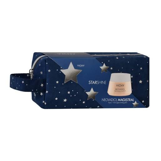 Vichy Promo Starshine Neovadiol Magistral Κρέμα Ημέρας για Ξηρή - Πολύ Ξηρή Επιδερμίδα50ml& Δώρο Νεσεσέρ