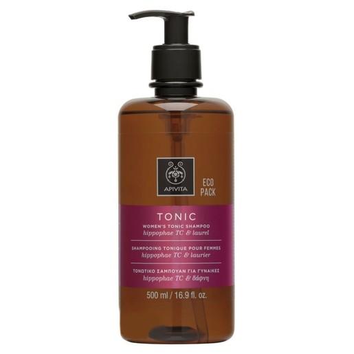 Apivita Women\'s Tonic Shampoo With Hippophae Tc & Laurel Τονωτικό Σαμπουάν για Γυναίκες Κατά της Τριχόπτωσης 500ml