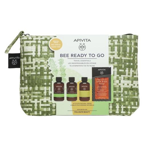 Apivita Bee Ready to Go Travel Essentials Πλήρη Σειρά Περιποίησης για το Ταξίδι σε Ειδική Τιμή