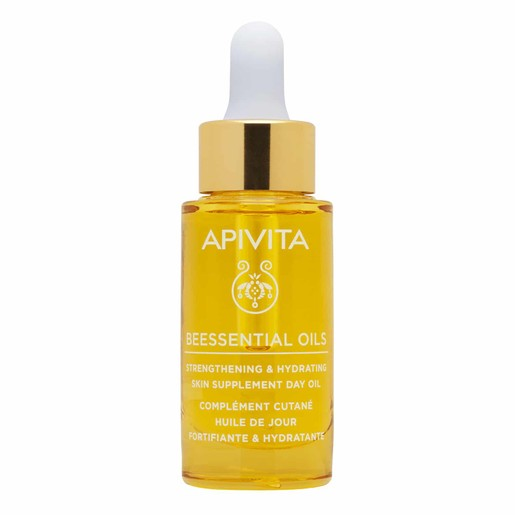 Apivita Beessential Oils Strengthening & Hydrating Skin Supplement Day Oil 15ml