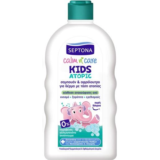 Septona Kids Calm n\' Care Atopic Παιδικό Σαμπουάν & Αφρόλουτρο για Δέρμα με Τάση Ατοπίας 200ml
