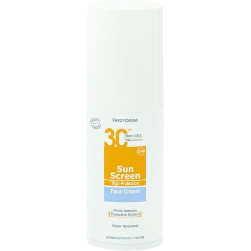 Frezyderm Sun Screen Face Cream Spf30, 50ml