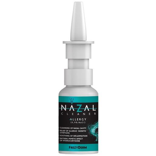 Frezyderm Nazal Cleaner Allergy Spray, Ανακουφίζει από τα Συμπτώματα Αλλεργικής Ρινίτιδας & Καταπραΰνει την Φλεγμονή 30ml