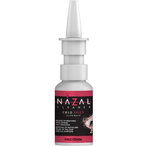 Frezyderm Nazal Cleaner Cold Spicy Spray,Καθαρίζει τη Ρινική Κοιλότητα,Απομακρύνει την Βλέννα,Ελευθερώνει Άμεσα την Αναπνοή 30ml
