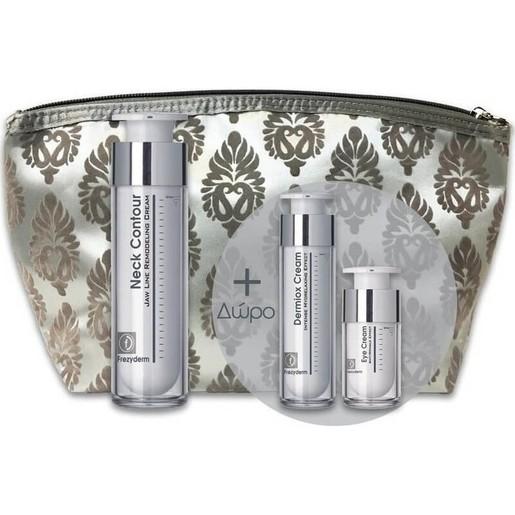 Πακέτο Προσφοράς Neck Contour Cream 50ml & Dermiox Cream 15ml & Eye Cream 5ml & Νεσεσέρ - Frezyderm