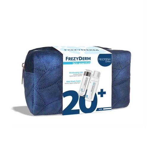 Frezyderm Πακέτο Προσφοράς Moisturizing Plus Cream 20+, 50ml & Mild Wash Foam 150ml & Νεσεσέρ σε Ειδική Τιμή
