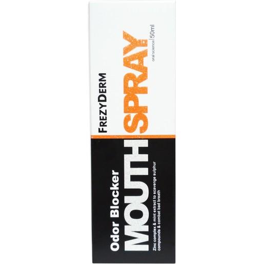 Frezyderm Odor Blocker Mouth Spray για την Αντιμετώπιση της Στοματικής Κακοσμίας & της Δυσάρεστης Αναπνοής 50ml