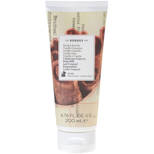 Body Milk Vanilla Cinnamon 200ml - Korres