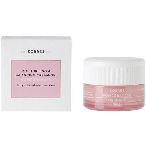 Korres Pomegranate Gel Cream για Λιπαρές & Μικτές Επιδερμίδες 40ml