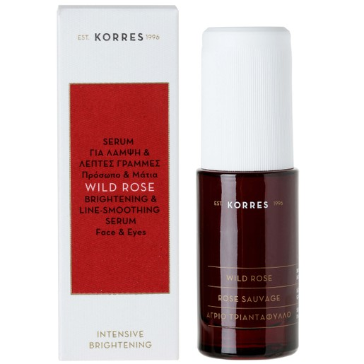 Korres Wild Rose Face & Eyes Serum 30ml