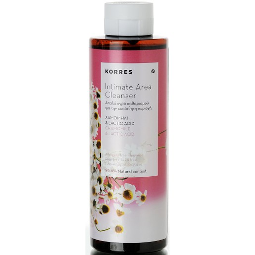Intimate Area Cleanser 250ml - Korres