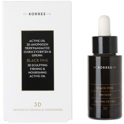 Μαύρη Πεύκη Serum Active Oil 30ml - Korres