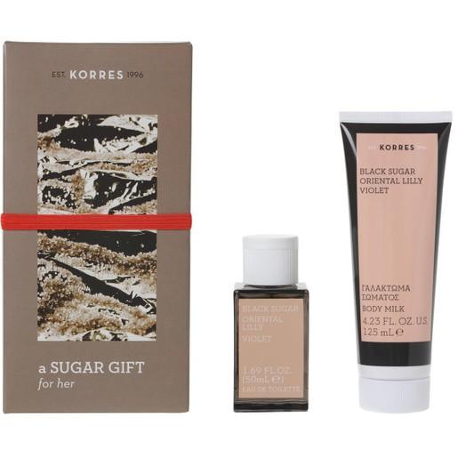 Korres Πακέτο Προσφοράς Black Sugar Eau De Toilette 50ml & Δώρο Body Milk125ml