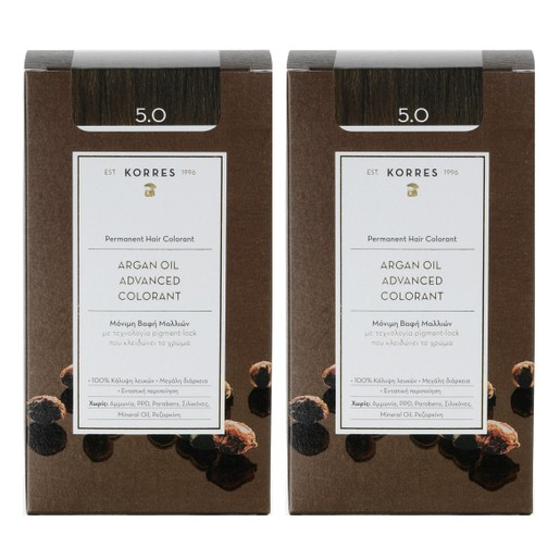 Korres Πακέτο Προσφοράς Argan Oil Advanced Colorant Promo -50% στο Δεύτερο Προϊόν