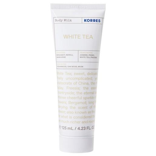 Korres Body Milk White Tea Ενυδατικό Δροσερό Γαλάκτωμα Σώματος 125ml